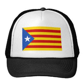 """""""L'Estelada Blava"""" Catalan Independence Flag Cap"""