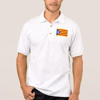 """L'Estelada Blava"" Catalan Independence Flag Polo Shirt"