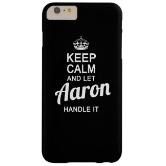 Let Aaron handle it! Barely There iPhone 6 Plus Case