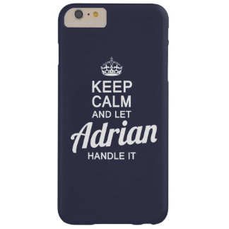 Let Adrian Handle It Barely There iPhone 6 Plus Case