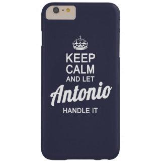 Let Antonio hanlde it! Barely There iPhone 6 Plus Case