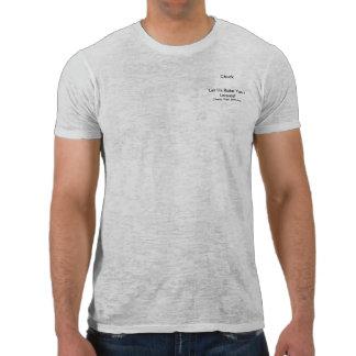 Let Chuck Rake Your Leaves T-shirt