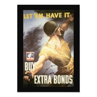 Let  Em Have It World War II Custom Announcements