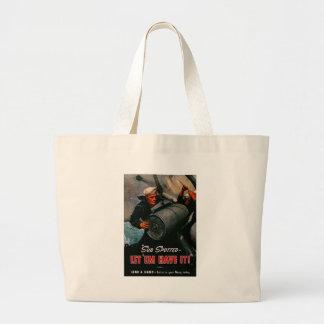 Let Em Have It World War II Tote Bags