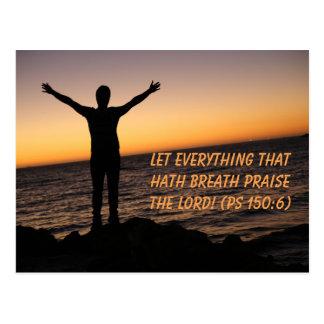 Let Everything That Hath Breath Postcard