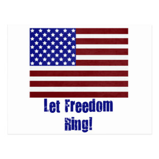 let freedom ring copy postcards