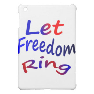 Let Freedom Ring iPad Mini Cover