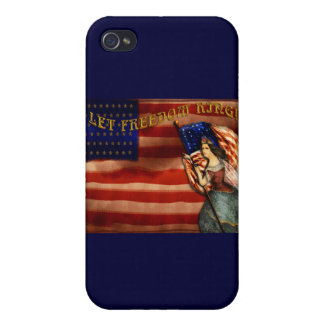 Let Freedom Ring iPhone 4/4S Cases