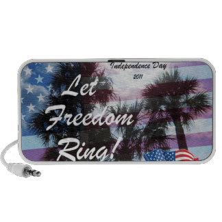 Let Freedom Ring Notebook Speakers
