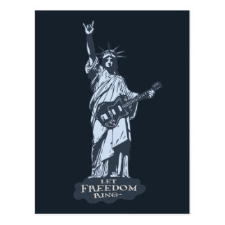 Let Freedom Ring Post Card