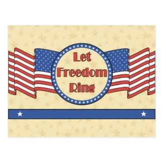 Let Freedom Ring Postcards