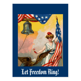 Let Freedom Ring Post Cards