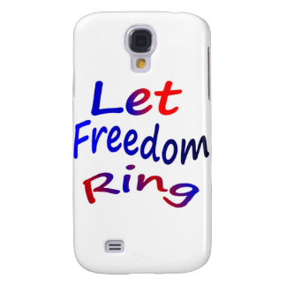 Let Freedom Ring Samsung Galaxy S4 Covers