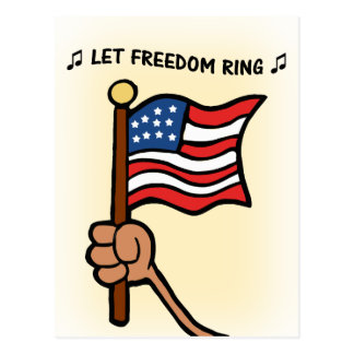 Let Freedom Ring - Star Spangled Banner Post Card