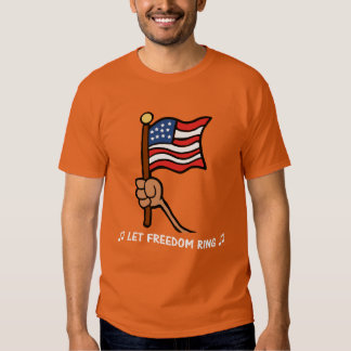 Let Freedom Ring - Star Spangled Banner T-shirt