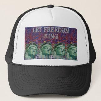 LET FREEDOM RING TRUCKER HAT