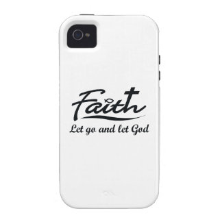 LET GO AND LET GOD VIBE iPhone 4 COVERS