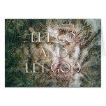 Let Go and Let God - Ferns Cards