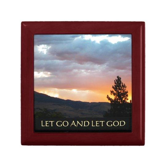 Let Go and Let God July Sky Gift