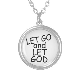 LET GO and LET GOD Necklace