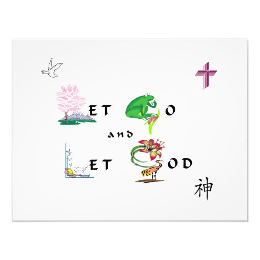Let Go and Let GOD Photo