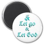 Let Go Let God Magnets