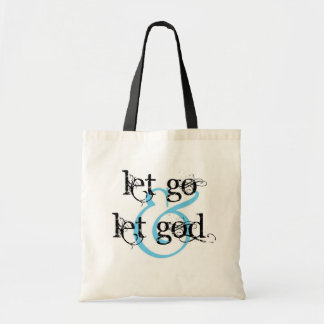 let go let god canvas bags