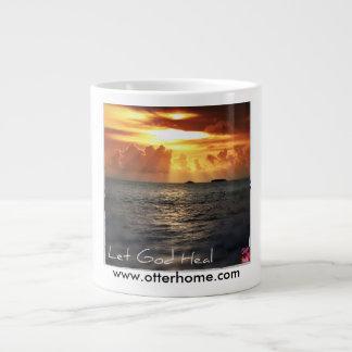 Let God Heal Jumbo Mug