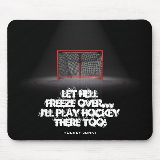 LET HELL FREEZE OVER MOUSE MAT