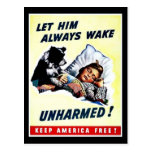 Let Him Always Wake Unharmed Post Cards