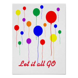let it all go poster