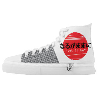 let it be japan shoes printed shoes