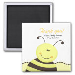Let it Bee Bumble Bee Baby Shower Favour Magnet