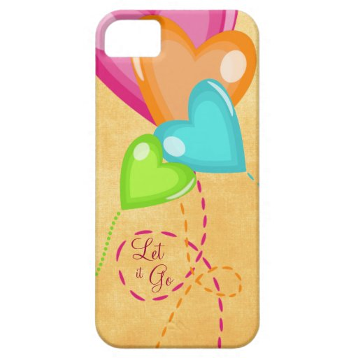 Let it Go with Balloons Floating Away iPhone 5/5S Cases