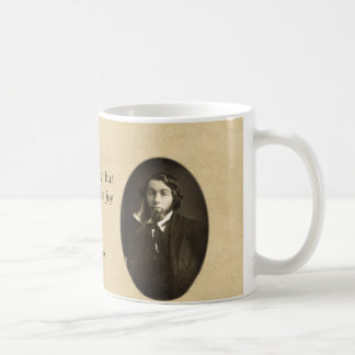"""Let It Produce Joy"" Whitman Quote Coffee Mug"