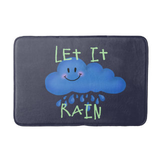 Let it rain bath mats