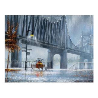 Let It Rain Postcard