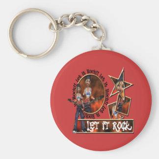 Let It Rock - Keychain