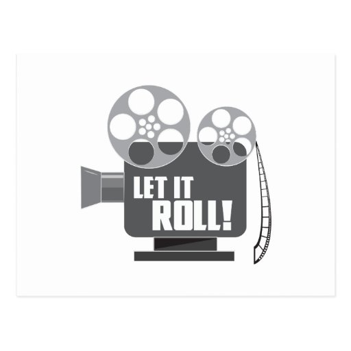 Let It Roll Post Cards
