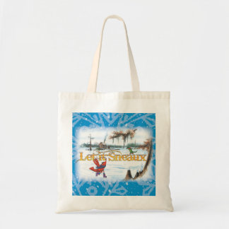 Let-it-Sneaux-Bag Tote Bag