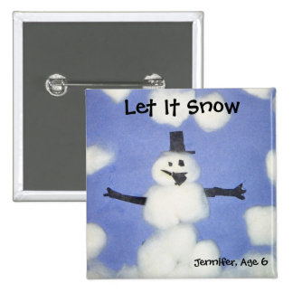 Let It Snow Button
