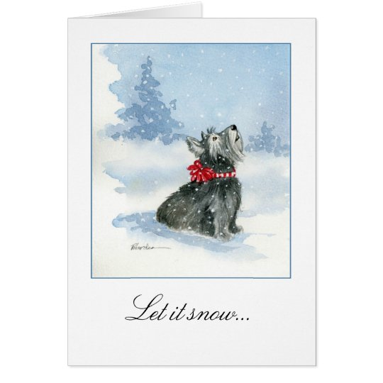 Let it Snow! Celebrating Kadie card and envelope
