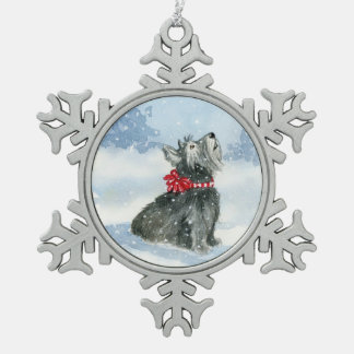 Let it Snow! - Celebrating Kadie! Snowflake Pewter Christmas Ornament