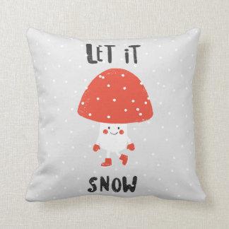 Let it snow cushion