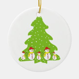 Let it snow custom Christmas ornament