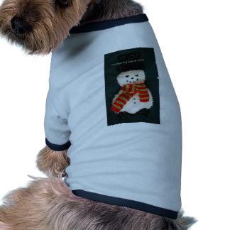 let it snow dog clothes