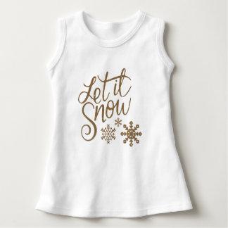 Let It Snow Dress