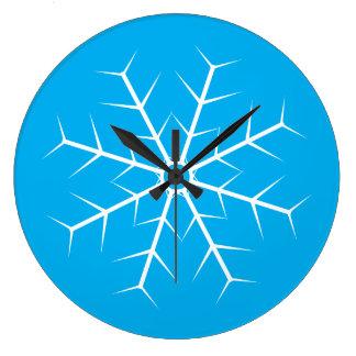 Let It Snow Frozen Clock
