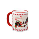 Let it Snow Gingerbread Family Holiday Mug