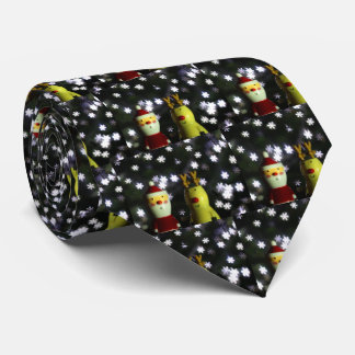 Let it Snow! Happy Holidays with Santa tie